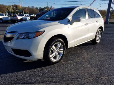 2015 Acura RDX for sale at Moores Auto Sales in Greeneville TN