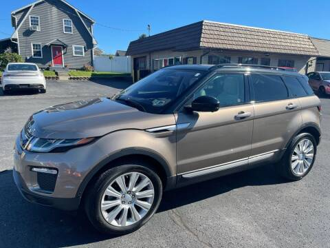2016 Land Rover Range Rover Evoque for sale at MAGNUM MOTORS in Reedsville PA