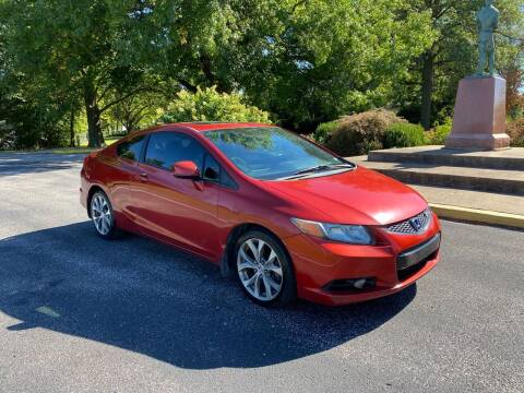 2012 Honda Civic for sale at BOOST AUTO SALES in Saint Charles MO
