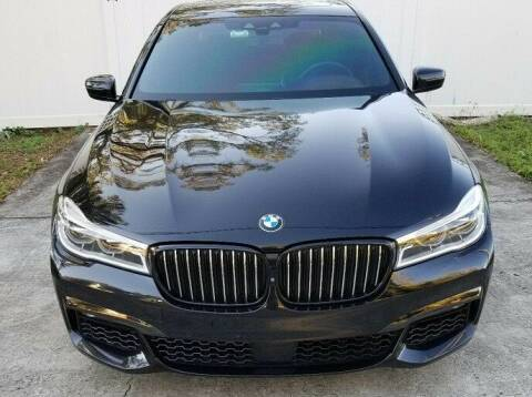 2017 BMW 7 Series for sale at NJ Enterprises in Indianapolis IN
