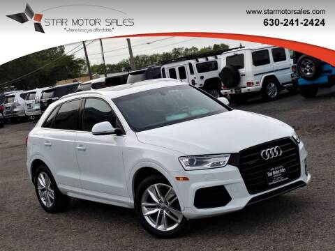 2017 Audi Q3 for sale at Star Motor Sales in Downers Grove IL