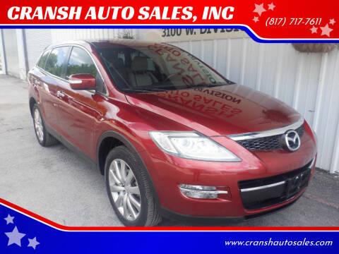 2008 Mazda CX-9 for sale at CRANSH AUTO SALES, INC in Arlington TX