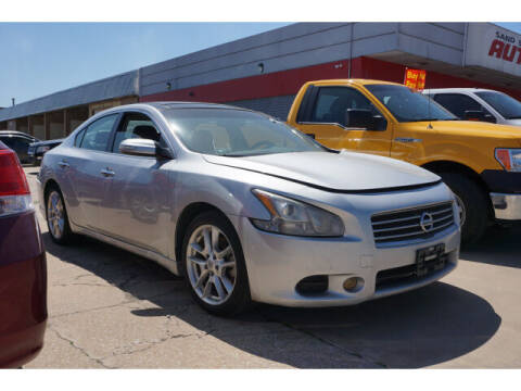 2011 Nissan Maxima for sale at Sand Springs Auto Source in Sand Springs OK