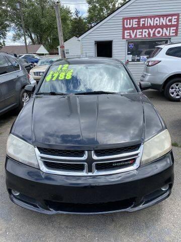 2012 Dodge Avenger for sale at Mastro Motors in Garden City MI
