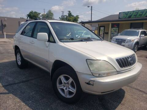 2002 Lexus RX 300 for sale at speedy auto sales in Indianapolis IN
