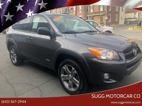 2010 Toyota RAV4 for sale at Sugg Motorcar Co in Boyertown PA