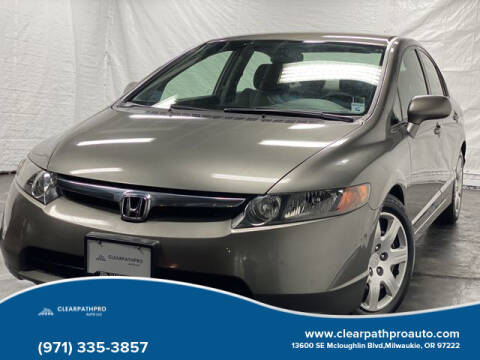 2007 Honda Civic for sale at CLEARPATHPRO AUTO in Milwaukie OR