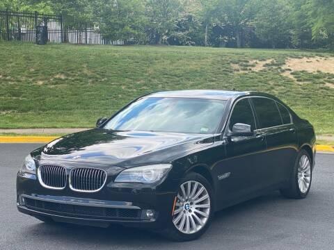 2013 BMW 7 Series for sale at Diamond Automobile Exchange in Woodbridge VA