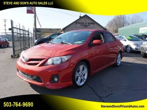 2013 Toyota Corolla for sale at Steve & Sons Auto Sales in Happy Valley OR