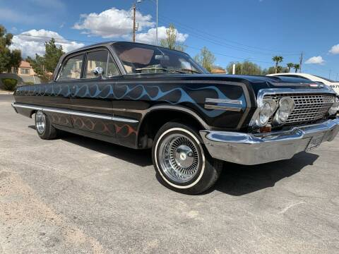 1963 Chevrolet Impala for sale at Boktor Motors in Las Vegas NV