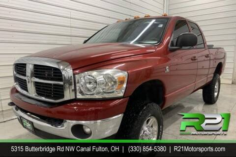2006 Dodge Ram Pickup 2500 for sale at Route 21 Auto Sales in Canal Fulton OH