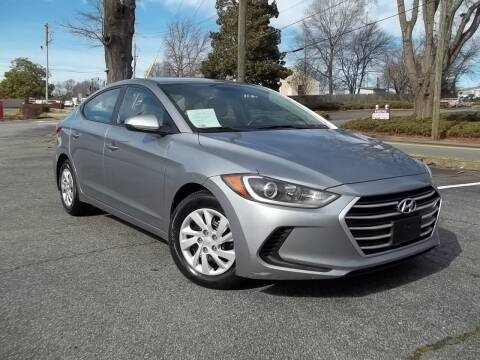 2017 Hyundai Elantra for sale at CORTEZ AUTO SALES INC in Marietta GA
