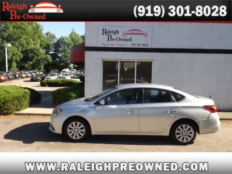 2018 Nissan Sentra for sale at Raleigh Pre-Owned in Raleigh NC