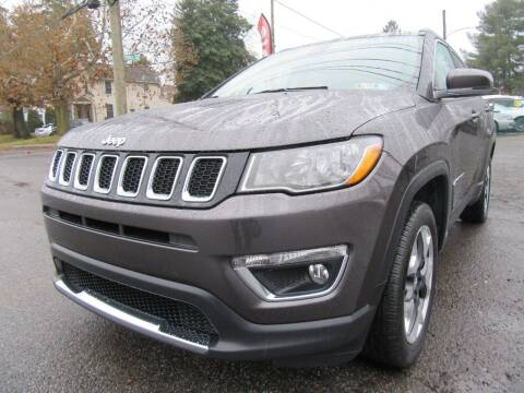 2017 Jeep Compass for sale at PRESTIGE IMPORT AUTO SALES in Morrisville PA