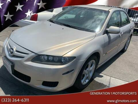 2008 Mazda MAZDA6 for sale at GENERATION 1 MOTORSPORTS #1 in Los Angeles CA