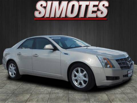 2008 Cadillac CTS for sale at SIMOTES MOTORS in Minooka IL