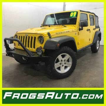 2009 Jeep Wrangler Unlimited for sale at Frogs Auto Sales in Clinton IA