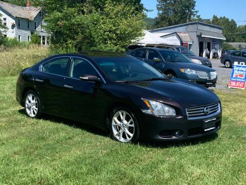 2014 Nissan Maxima for sale at Saratoga Motors in Gansevoort NY