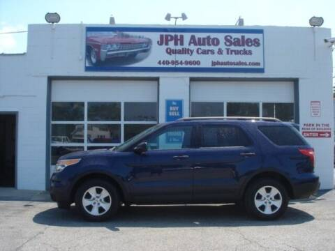 2011 Ford Explorer for sale at JPH Auto Sales in Eastlake OH
