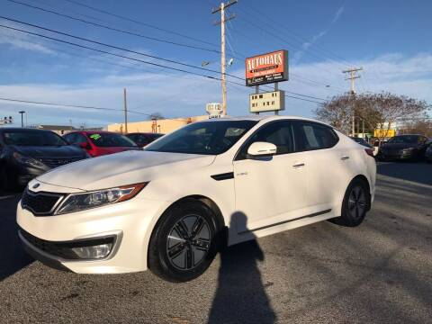 2013 Kia Optima Hybrid for sale at Autohaus of Greensboro in Greensboro NC