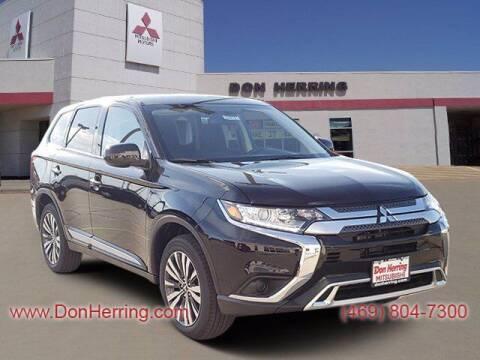 2020 Mitsubishi Outlander for sale at DON HERRING MITSUBISHI in Irving TX