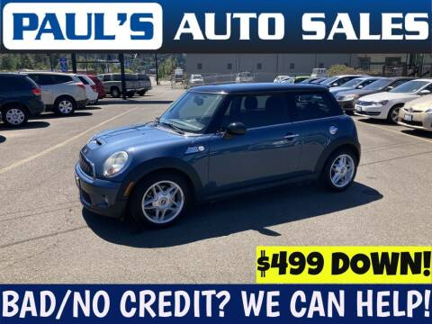 2009 MINI Cooper for sale at Paul's Auto Sales in Eugene OR