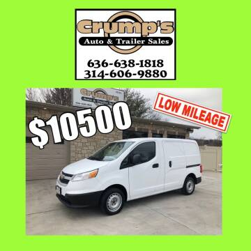2016 Chevrolet City Express Cargo for sale at CRUMP'S AUTO & TRAILER SALES in Crystal City MO