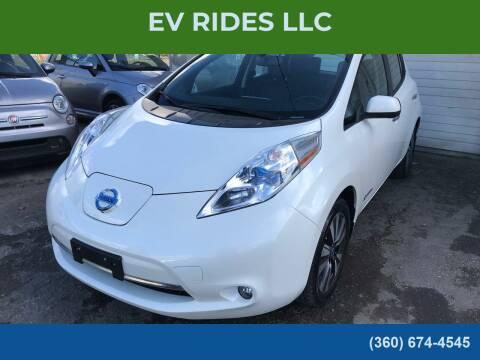 2013 Nissan LEAF for sale at EV RIDES LLC in Portland OR