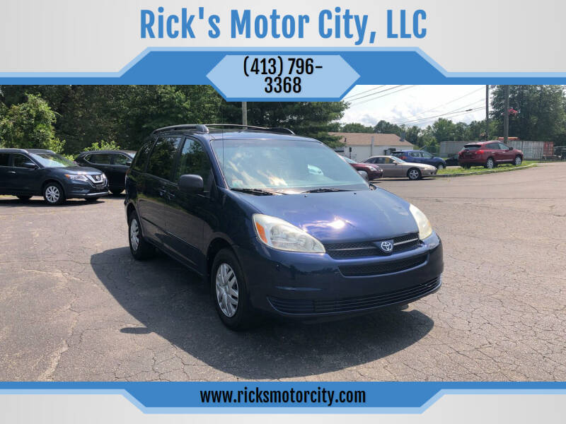 2005 Toyota Sienna for sale at Rick's Motor City, LLC in Springfield MA