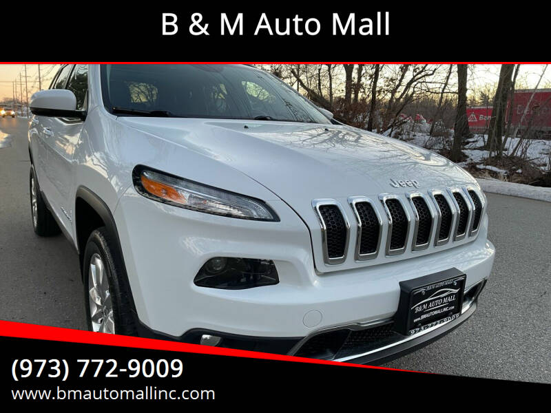 2014 Jeep Cherokee for sale at B & M Auto Mall in Clifton NJ