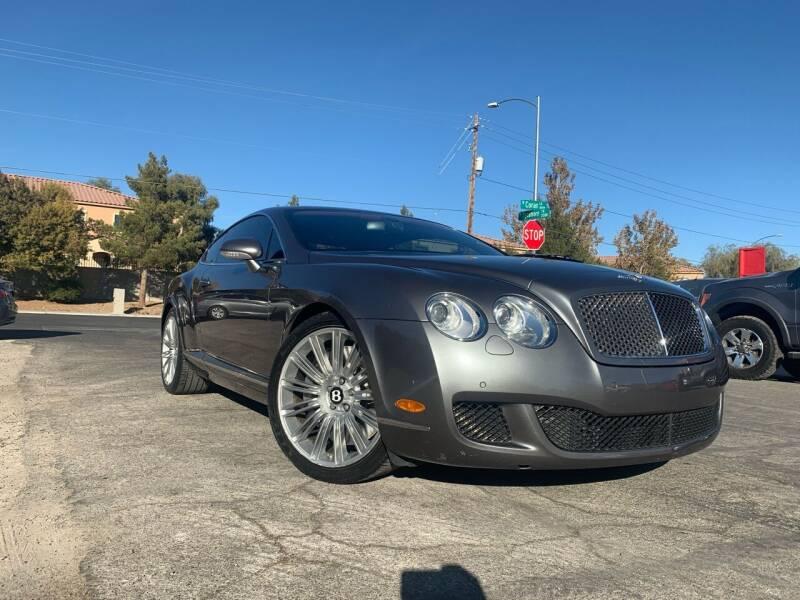 2008 Bentley Continental for sale at Boktor Motors in Las Vegas NV