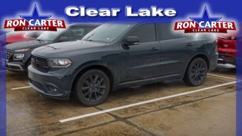 2017 Dodge Durango for sale at Ron Carter  Clear Lake Used Cars in Houston TX