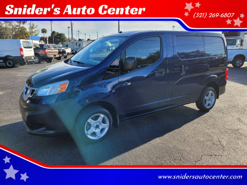2013 Nissan NV200 for sale at Snider's Auto Center in Titusville FL