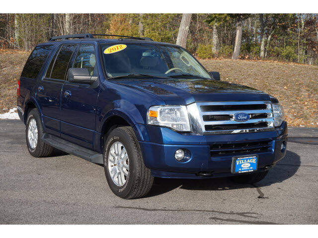 2012 Ford Expedition for sale at VILLAGE MOTORS in South Berwick ME