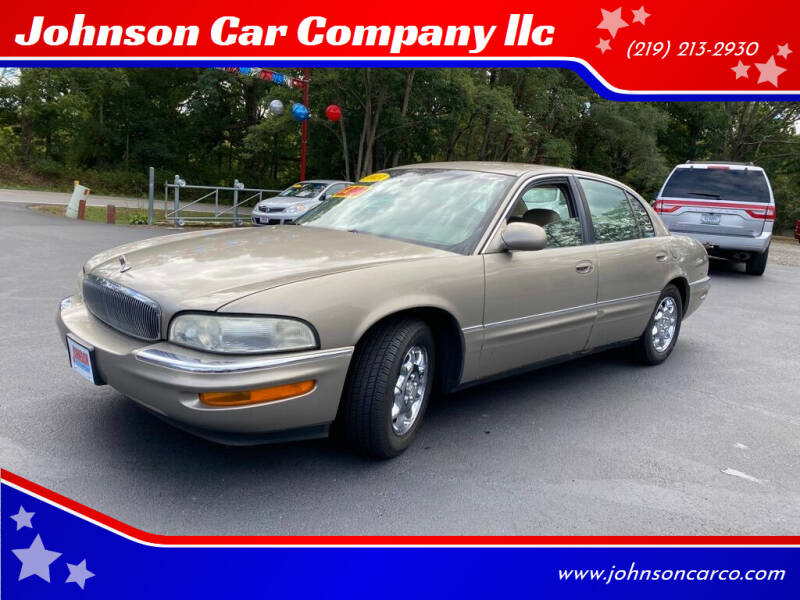 2003 Buick Park Avenue for sale at Johnson Car Company llc in Crown Point IN