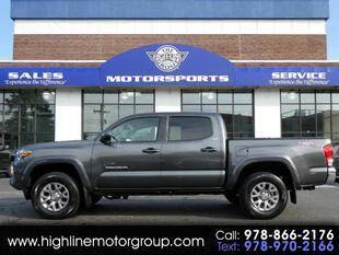 2016 Toyota Tacoma for sale at Highline Group Motorsports in Lowell MA