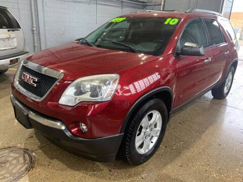 2010 GMC Acadia for sale at Square Business Automotive in Milwaukee WI