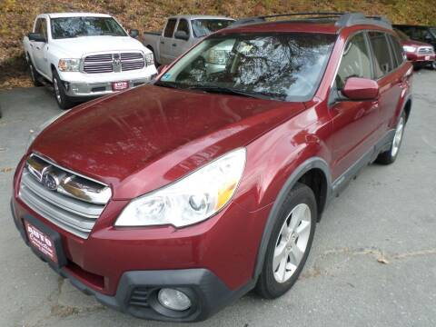 2014 Subaru Outback for sale at AUTO CONNECTION LLC in Springfield VT