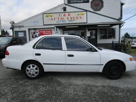 2000 Toyota Corolla for sale at G&R Auto Sales in Lynnwood WA