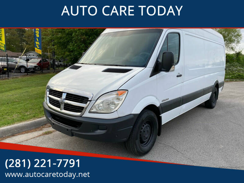 2008 Dodge Sprinter Cargo for sale at AUTO CARE TODAY in Spring TX