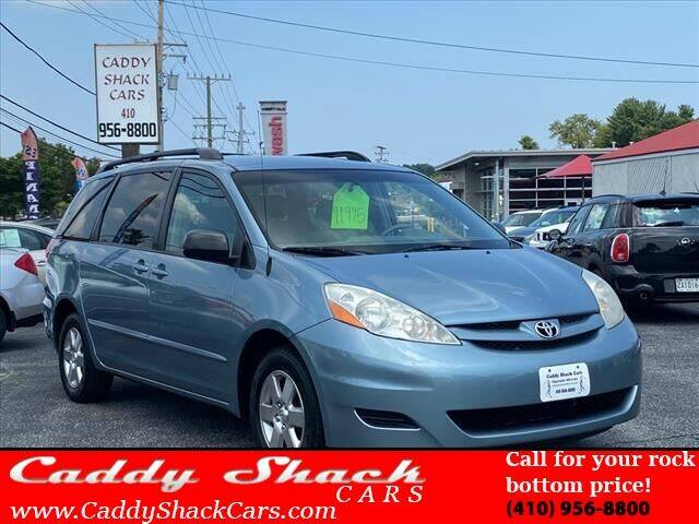 2008 Toyota Sienna for sale at CADDY SHACK CARS in Edgewater MD