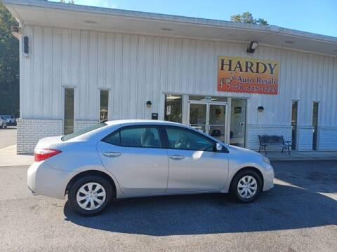 2016 Toyota Corolla for sale at Hardy Auto Resales in Dallas GA