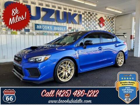 2018 Subaru WRX for sale at BROOKS BIDDLE AUTOMOTIVE in Bothell WA