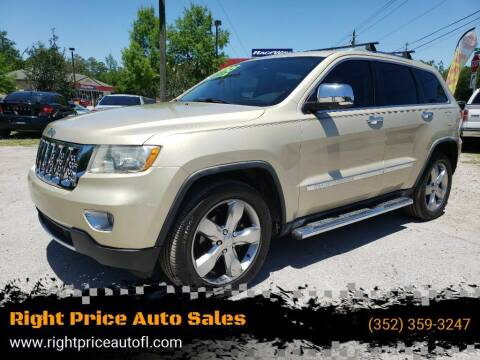 2012 Jeep Grand Cherokee for sale at Right Price Auto Sales-Gainesville in Gainesville FL