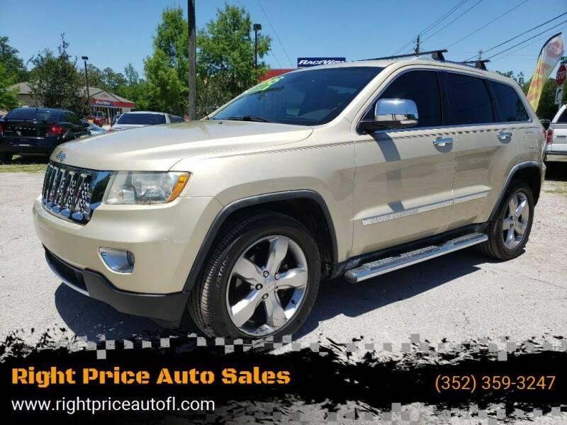 2012 Jeep Grand Cherokee for sale at Right Price Auto Sales in Waldo FL