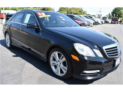 2013 Mercedes-Benz E-Class for sale at ATWATER AUTO WORLD in Atwater CA