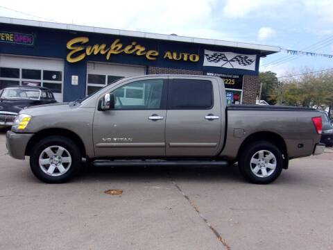2006 Nissan Titan for sale at Empire Auto Sales in Sioux Falls SD