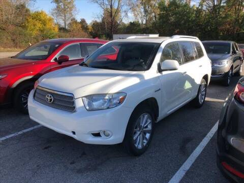 2009 Toyota Highlander Hybrid for sale at Tom Roush Budget Westfield in Westfield IN