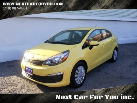 2016 Kia Rio for sale at Next Car For You inc. in Brooklyn NY