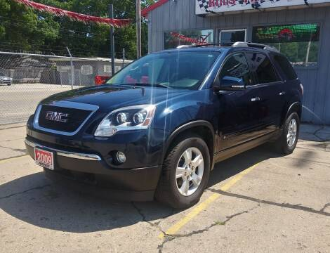 2009 GMC Acadia for sale at Wicked Motorsports in Muskegon MI